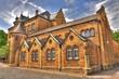 Leinwanddruck Bild - Alte Schule Goslar