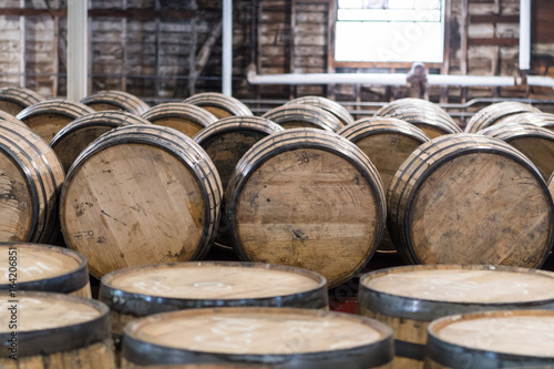 Bourbon Barrel Storage Room