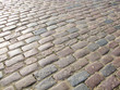 cobble stones, curved cobble stone path, curved cobble stone pattern