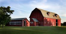 Big Red Barn-panorama - Door C...