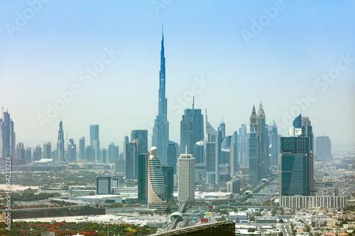 Tuinposter Dubai Dubai Cityscape