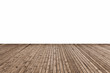 Leinwanddruck Bild - wooden floor isolated