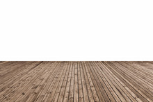 Wooden Floor Isolated