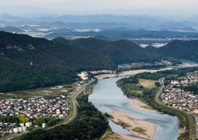 Panoramic View Of Nagara River...