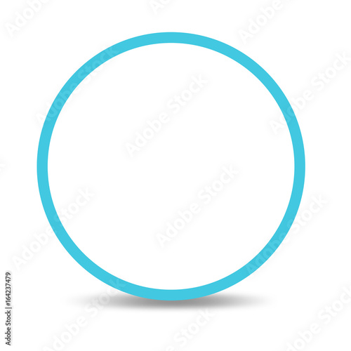 Think round background. think bubble Wall mural