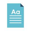 paper document icon image