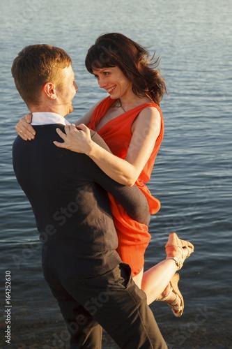 Fotografía  Young couple in love