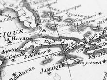 古地図 キューバ