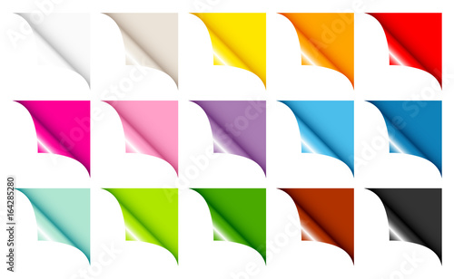 15 Web Corners Full Color Angled Right Up Wallpaper Mural