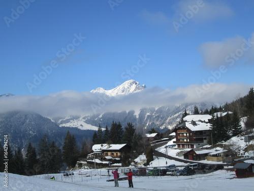 Papiers peints Alpes haute savoie hivers