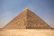 The Great pyramid with blue sky
