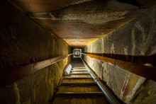 Stairway Of The Tomb In The Center Of A Pyramid