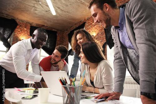 Fotografía  Teamwork concept