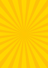Yellow Retro Vintage Style Bac...