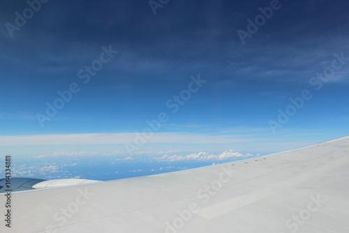 Foto auf Gartenposter Antarktika 飛行機からの眺め