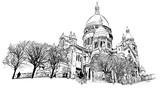 Bazylika Najświętszego Serca, Paryż, Francja - 164336231