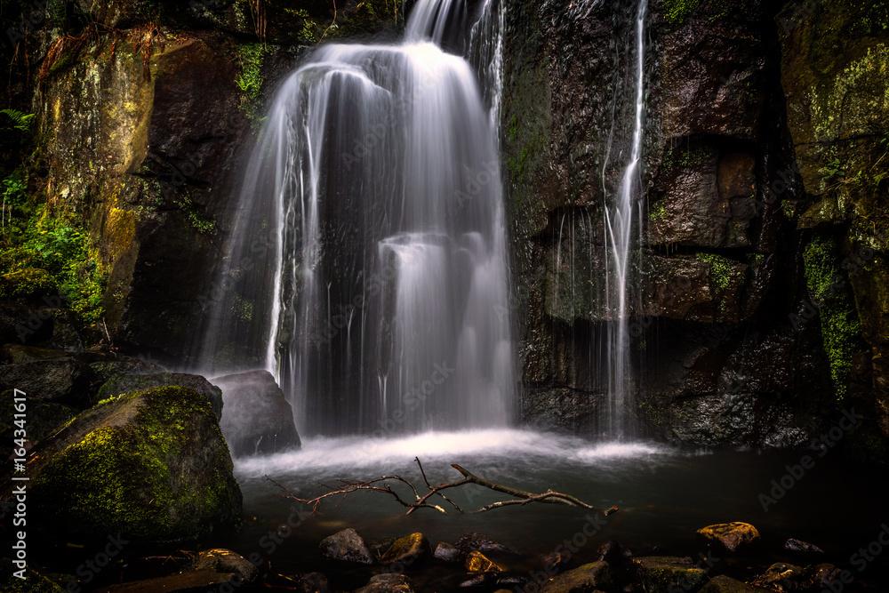 Lumsdale Falls Matlock Waterfall Poster