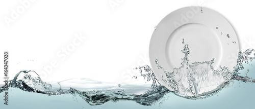 Fotografía  Dishwashing liquid, banner.