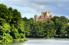 Wollaton Hall And Park Nottingham Nottingham, UK, England..