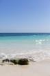 Shore line on the Caribbean coast.