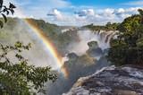 Fototapeta Tęcza - Wodospad Iguazu, Argentyna