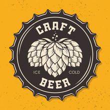 Illustration Of Craft Beer Bot...