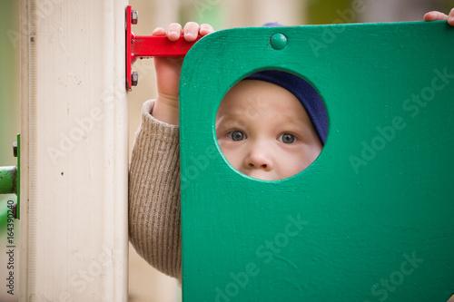 Cute boy hole