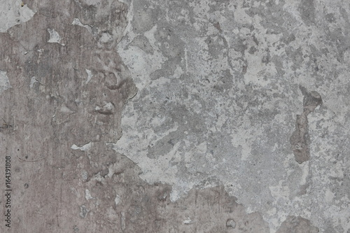 Poster Vieux mur texturé sale Gray texture of cement for designer