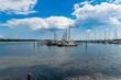 Marina in Horsens Denmark