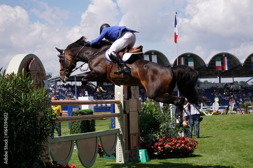 Photo sur Aluminium Equitation Reitsport