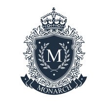 Coat Of Arms. Heraldic Royal E...