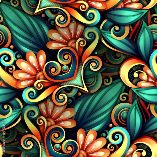 wektor-barwiony-bezszwowy-wzor-z-kwiecistym-ornamentem