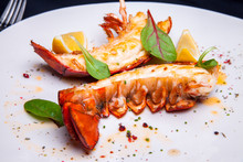 Lobster Tail In Maple-truffle ...