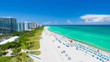 canvas print picture - Miami Beach, South Beach, Florida. USA.