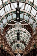 Glass Roof Detail, Grand Arcade, Leeds