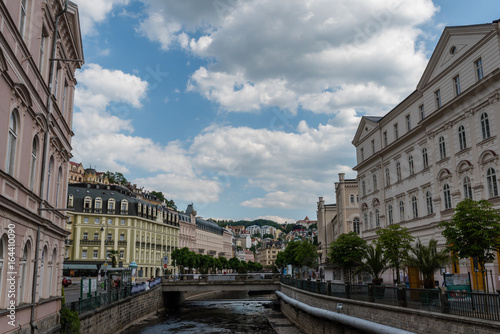 Fotografie, Obraz  Karlovy Vary in the summer