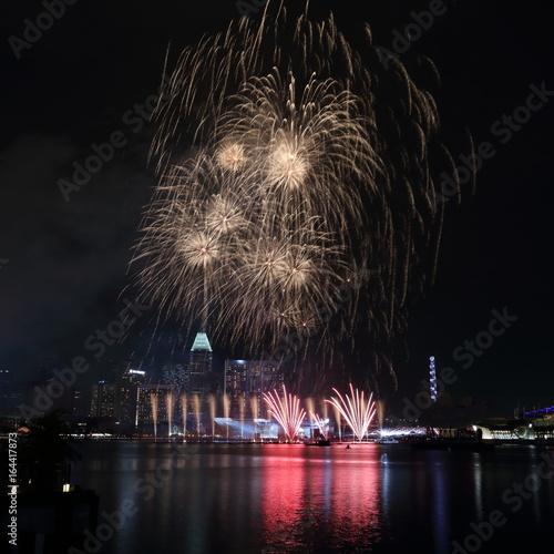 Photo  Singapore Fireworks 2017 3