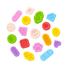 Ecstasy MDMA Pills