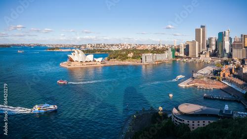 Obraz na płótnie Widok Sydney schronienie w Australia