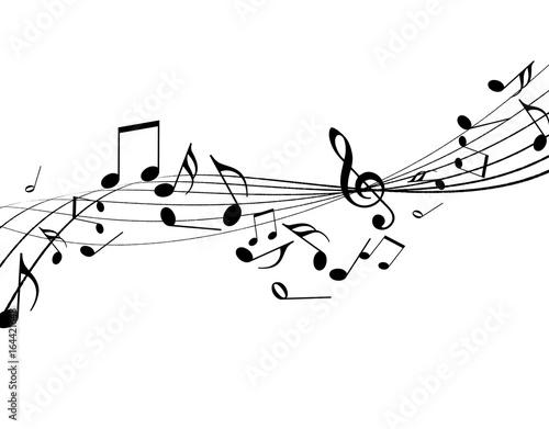 Cuadros en Lienzo  音楽 譜面 楽譜