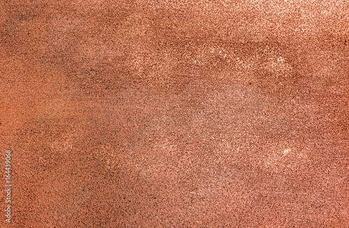 Canvas Print Copper stucco wall