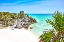Ruins Of Tulum / Caribbean Coast Of Mexico - Quintana Roo - Cancun - Riviera Maya