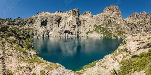 Valokuvatapetti Lac de Capitello near Corte in Corsica