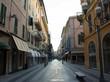 Pedestrian street in San Remo
