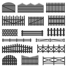 Rural Fences Wooden Set