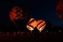 Hot Air Balloon At Night 06