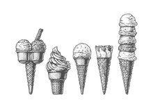 Ice Cream Cones Collection