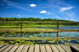 Stary pomost nad jeziorem