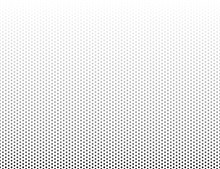 Grey And White Gradient From Hexagons