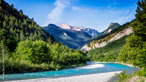 Foto op Aluminium Rivier The Drome river in southern france